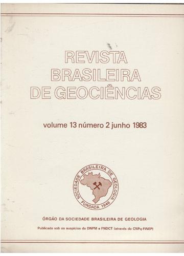 Revista Brasileira de Geociências - Volume 13 - Número 2 - Junho 1983