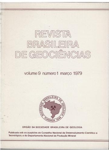 Revista Brasileira de Geociências - Volume 9 - Número 1 - Março 1979