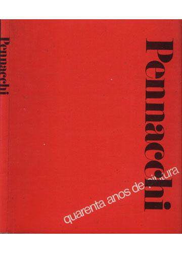Pennacchi - 40 Anos de Pintura - Com Dedicatória de Fabio Porchat