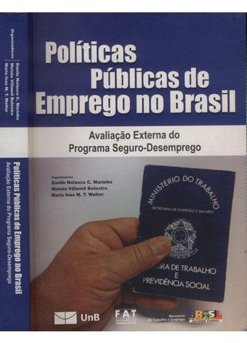 Políticas Públicas de Emprego no Brasil