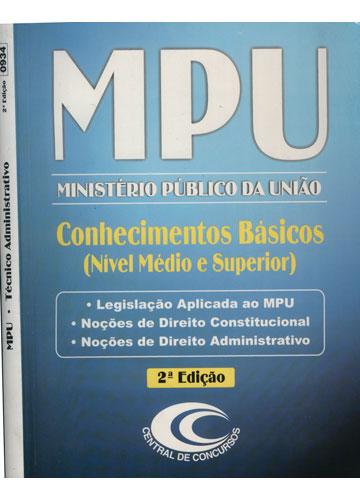 MPU - Técnico Administrativo