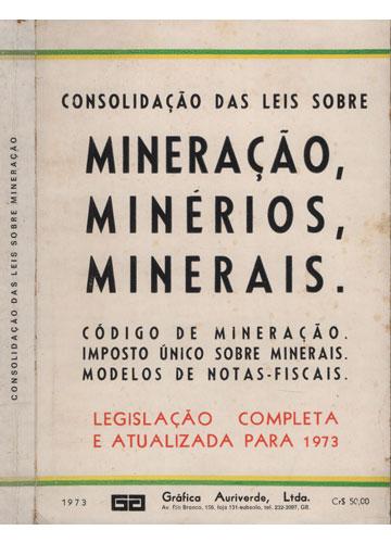 Consolidação das Leis Sobre Mineração