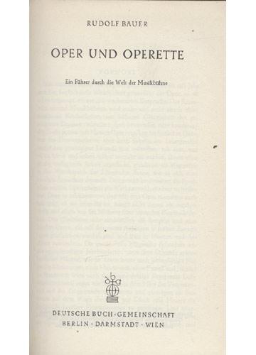 Oper Operette