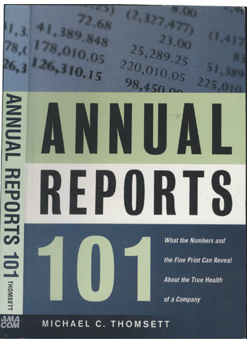 Annual Reports 101