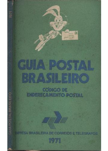 Guia Postal Brasileiro - 1971