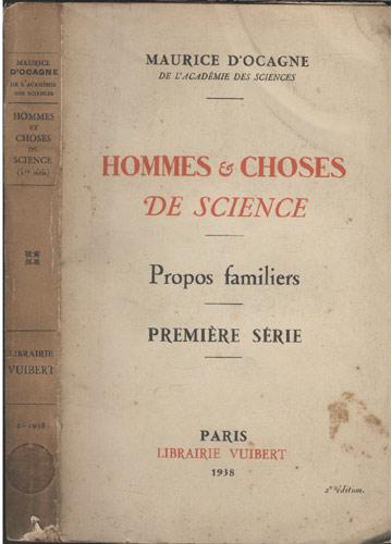 Hommes et Choses de Science - 1ª Série