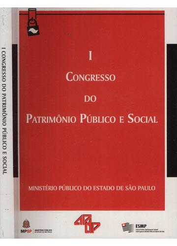 Congresso do Patrimônio Público e Social