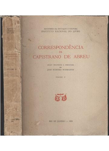 Correspondência de Capistrano de Abreu - Volume 2