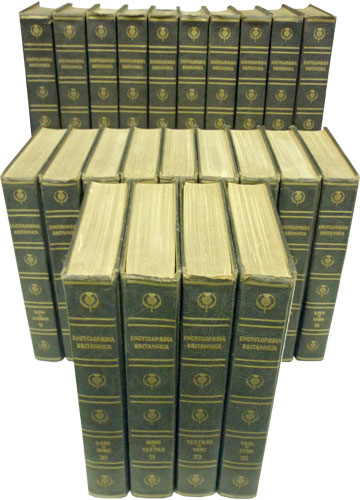 Encyclopaedia Britannica - 23 Volumes