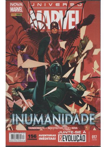 Universo Marvel - Nº.17 - Inumanidade