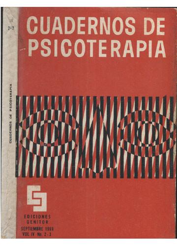 Cuadernos de Psicoterapia - Volume IV - Nº. 2-3