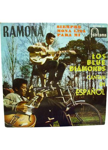 Los Blues Diamonds Cantan en Español *Compacto Importado**