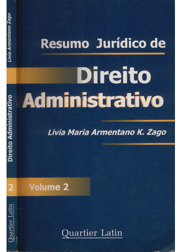 Resumo Jurídico de Direito Administrativo - Volume 2