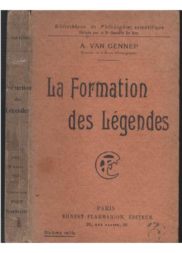 Formation des Légendes