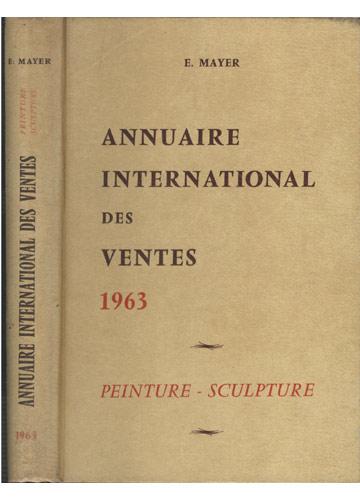 Annuaire International des Ventes 1963