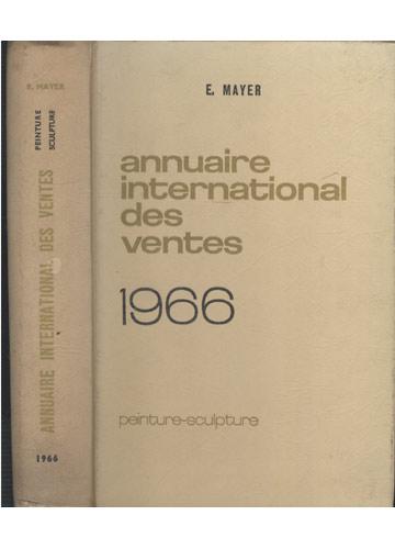 Annuaire International des Ventes 1966