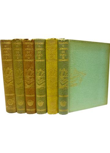 O Caminho de Ouro - 6 Volumes