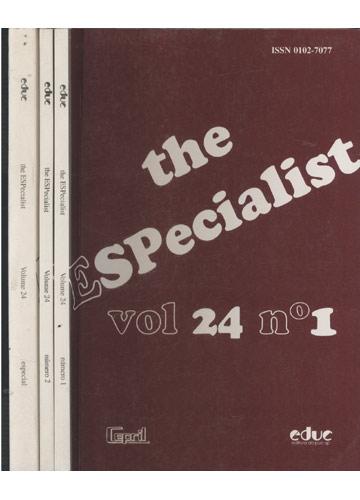 The Especialist - Volume 24 - 1 Volume em 2 Tomos + Suplemento