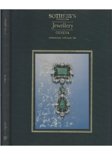 Sotheby's Geneva - Jewellery - 15th May 1985