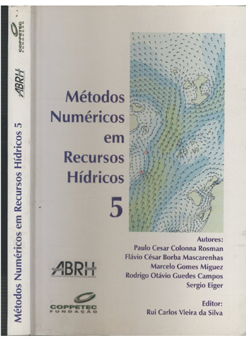 Métodos Numéricos em Recursos Hídricos - Volume 5