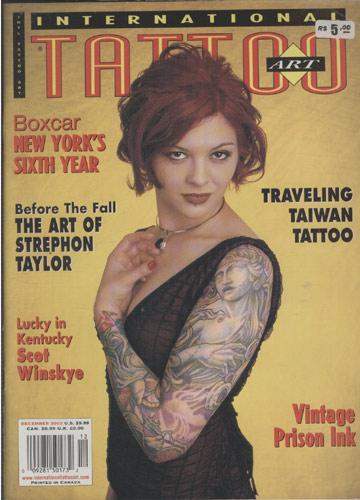 International Tattoo Art - December 2003