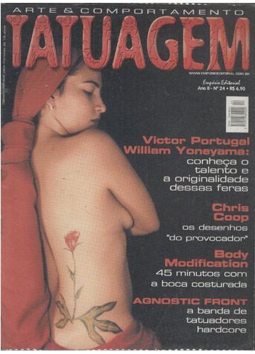Tatuagem Arte & Comportamento - Nº.24