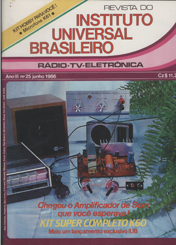 Revista do Instituto Universal Brasileiro - Ano II - Nº.25 - Junho 1986