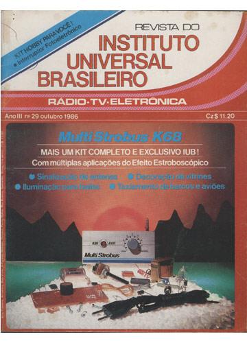 Revista do Instituto Universal Brasileiro - Ano III - Nº.29 - Outubro 1986