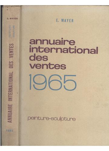 Annuaire International des Ventes 1965