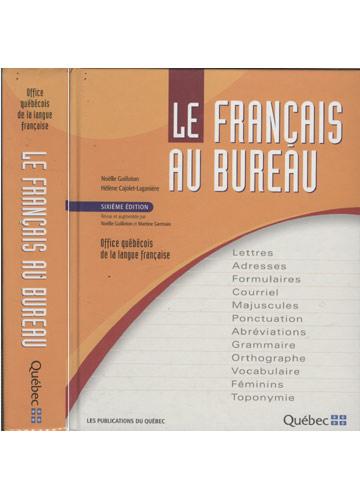 Le Français au Bureau - Com Marcadores