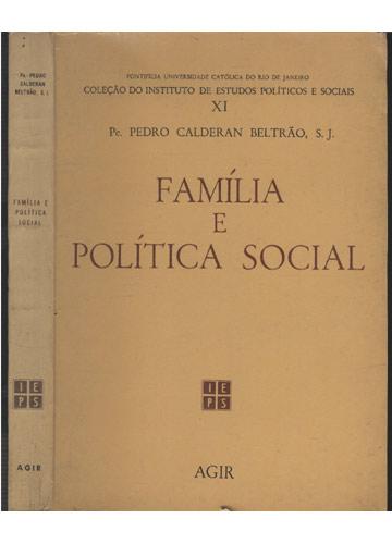 Família e Política Social