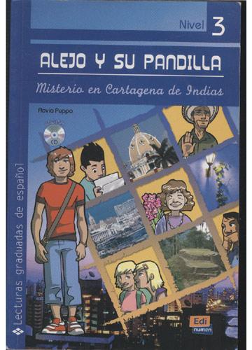 Alejo y su Pandilla - Misterio en Cartagena de Indias - Com CD