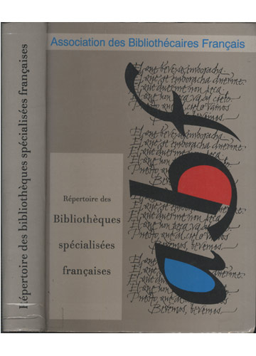 Répertoire des Bibliothèques Spécialisées Françaises
