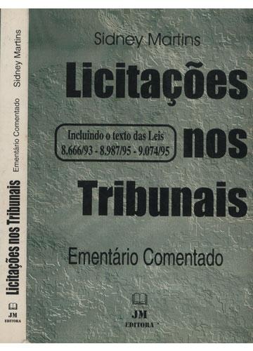Licitações nos Tribunais