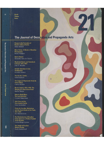The Journal of Decorative and Propaganda Arts - Brazil Theme Issue - 1995 - Nº.21