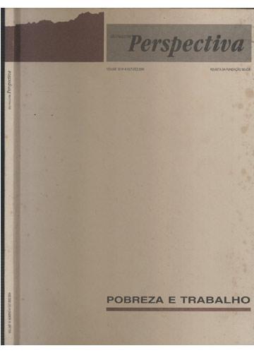 São Paulo em Perspectiva - Volume 18 - N°4 - Out-Dez 2004