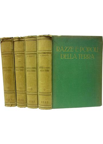 Razze e Popoli Della Terra - Com Ex-Libris do Pennavaria Di Monteraci