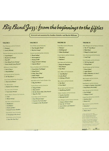 Big Band Jazz - From the Beginnings to the Fifties *importado* *4 CD's*
