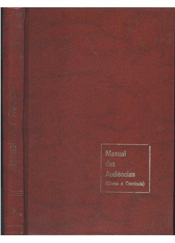 Manual das Audiências