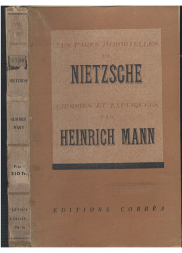 Nietzsche - Les Pages Immortelles de Nietzsche