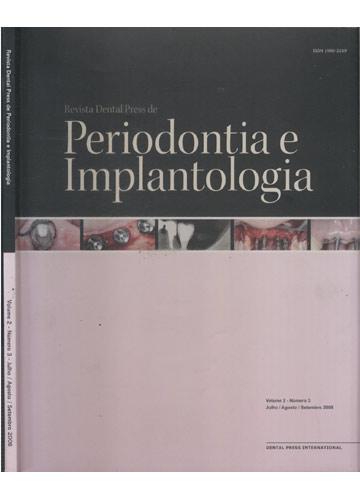 Revista Dental Press de Periodontia e Implantologia - Volume 2 - Número 1 - Janeiro / Fevereiro / Março 2008