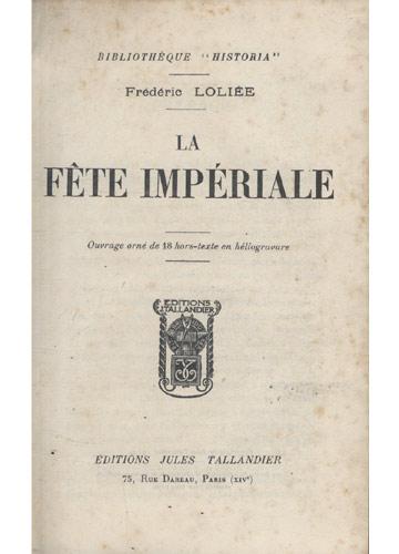 La Fete Imperiale