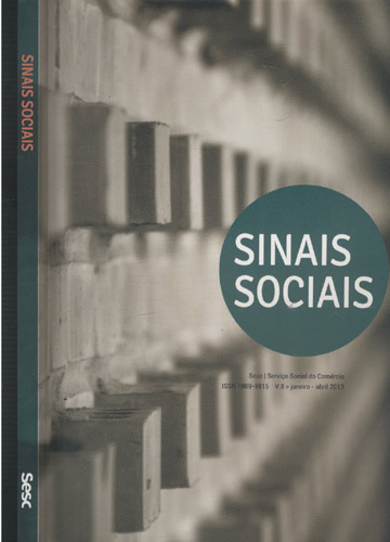 Sinais Sociais - Volume 8 - Nº 21 - Sesc - Serviço Social do Comércio - Janeiro-Abril - 2013
