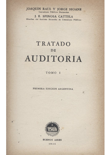Tratado de Auditoria - 3 Volumes