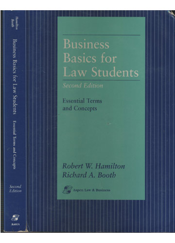 Business Basic for Law Students
