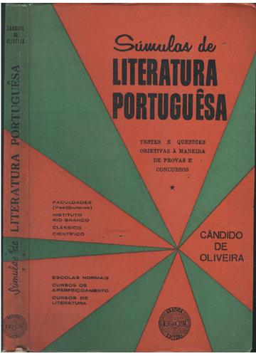 Súmulas de Literatura Portuguêsa