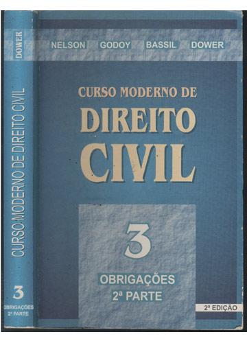 Curso Moderno de Direito  Civil - Volume 3