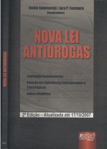 Nova Lei Antidrogas - sem CD