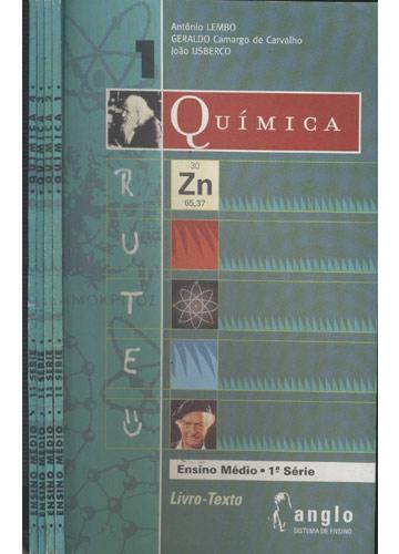 Química - Ensino Médio - 1ª Série - 4 Volumes