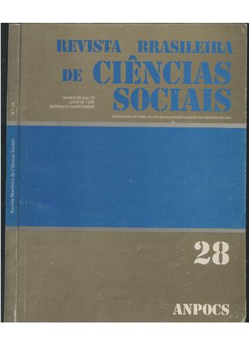 Revista Brasileira de Ciências Sociais Nº. 28